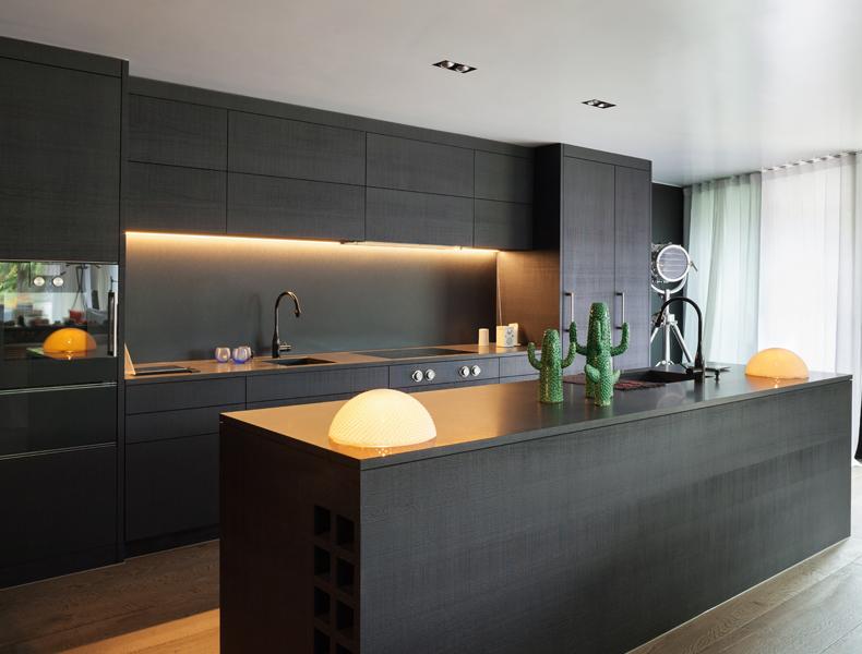 Island Modular Kitchen - kt003