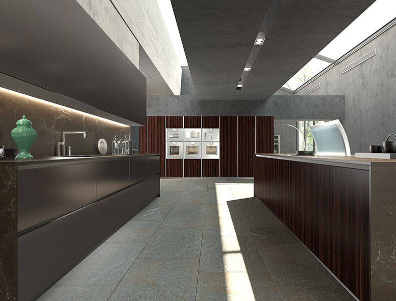 Parallel Modular Kitchen Laminate