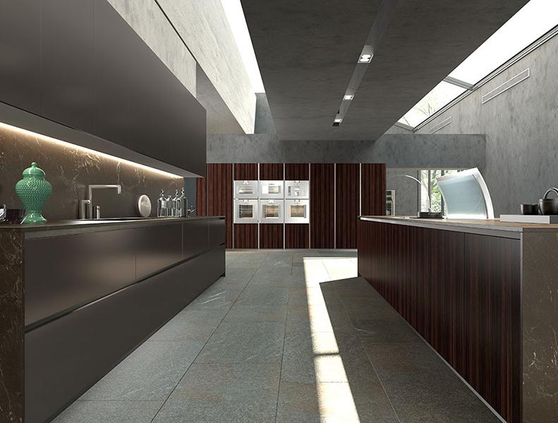 Parallel Kitchen Laminate