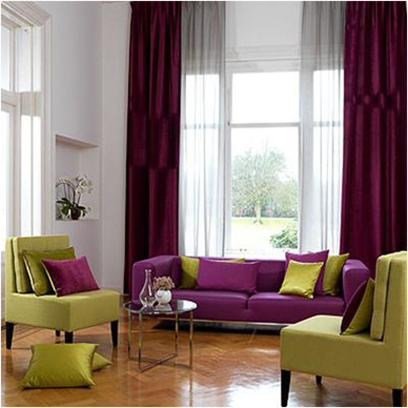 Hang Long Drapes over Windows