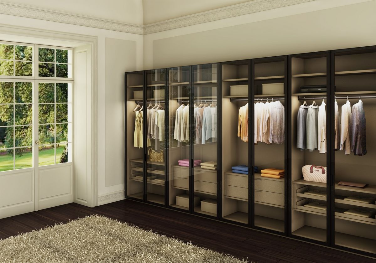 Best glass wardrobe design