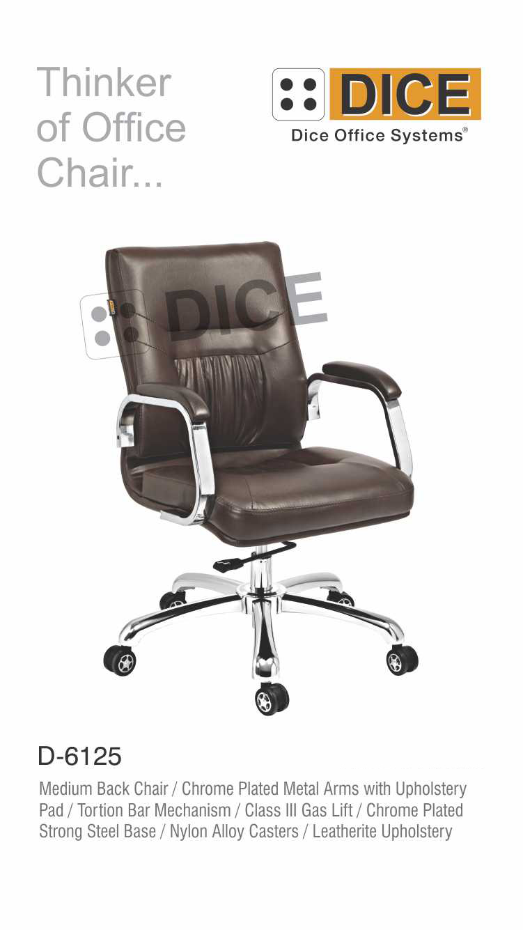 Black Office Chair Nylon Caster-6125