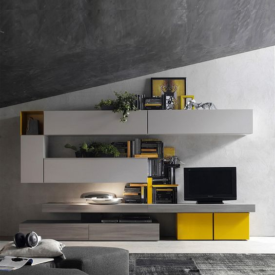 Design of TV unit