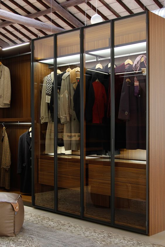 glass wardrobe India