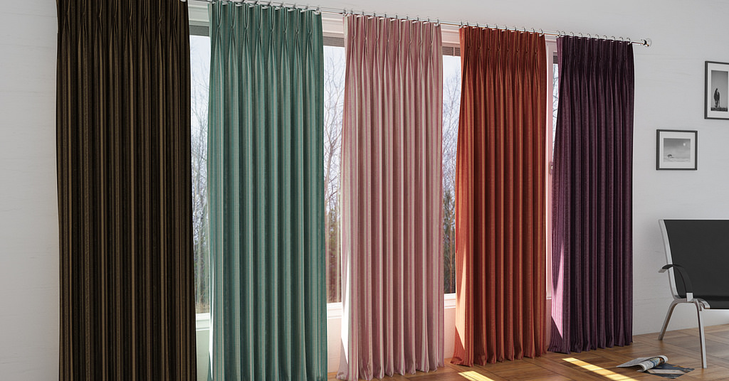 Living Room Simple Curtain Design
