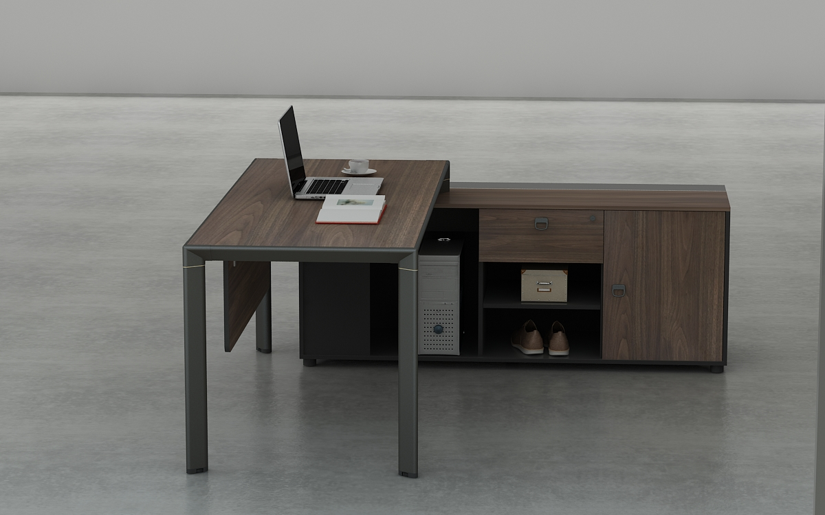 Wooden Office Table Design